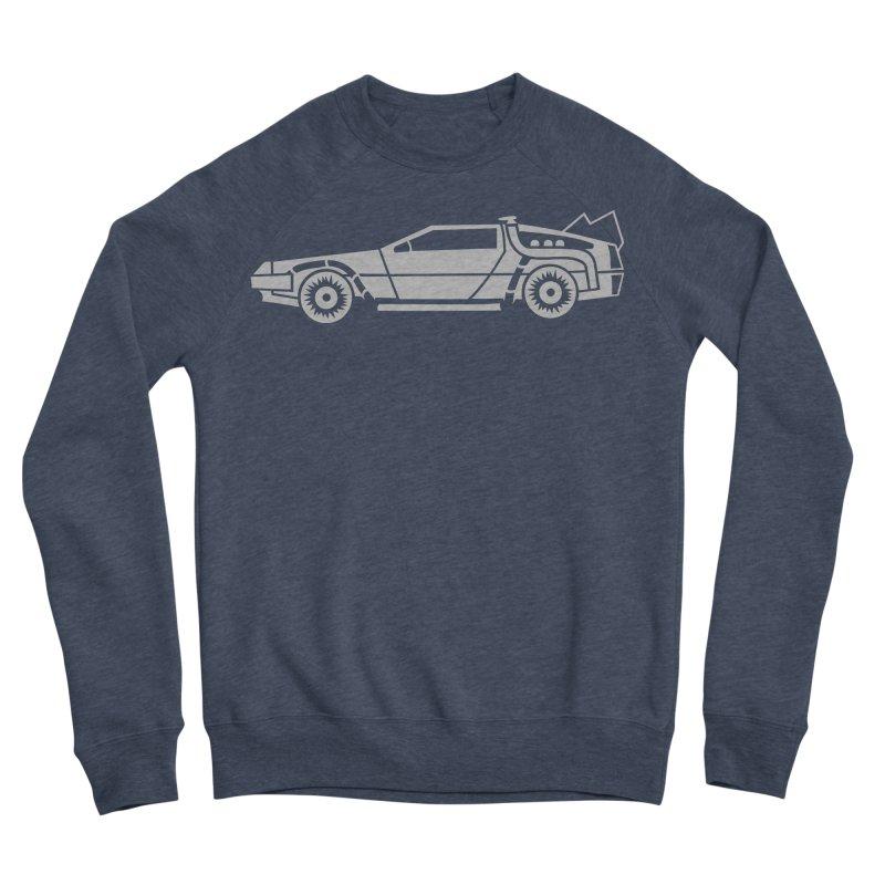 Delorean Women's Sponge Fleece Sweatshirt by Synner Design