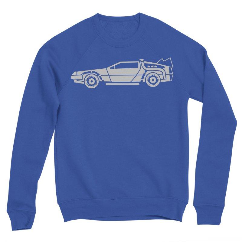Delorean Men's Sponge Fleece Sweatshirt by Synner Design