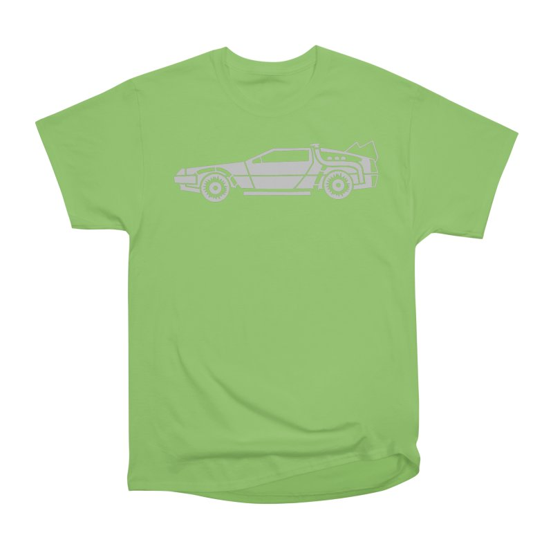 Delorean Women's Heavyweight Unisex T-Shirt by Synner Design