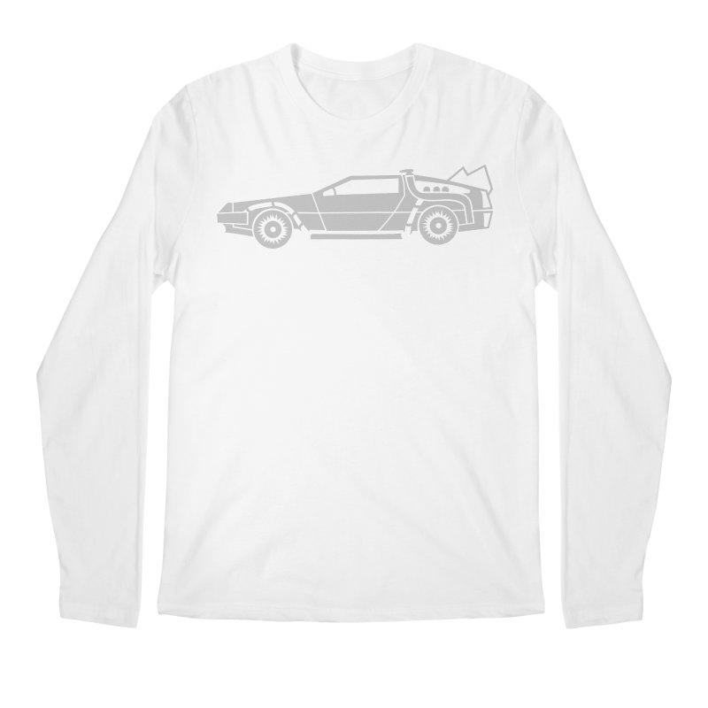 Delorean Men's Regular Longsleeve T-Shirt by Synner Design