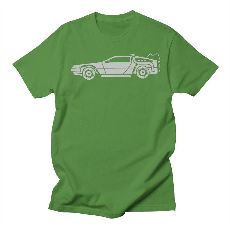 Delorean Women's Regular Unisex T-Shirt by Synner Design