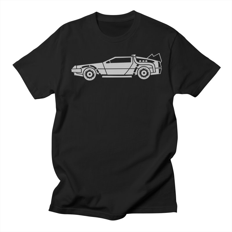 Delorean Women's Regular Unisex T-Shirt by Synner Design