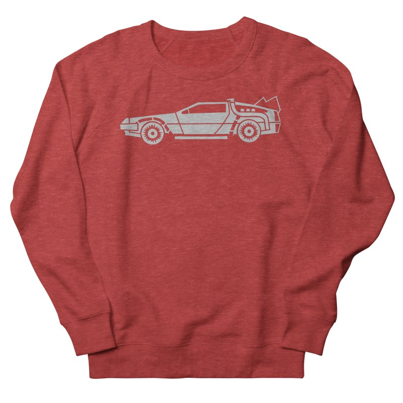 Delorean Women's French Terry Sweatshirt by Synner Design