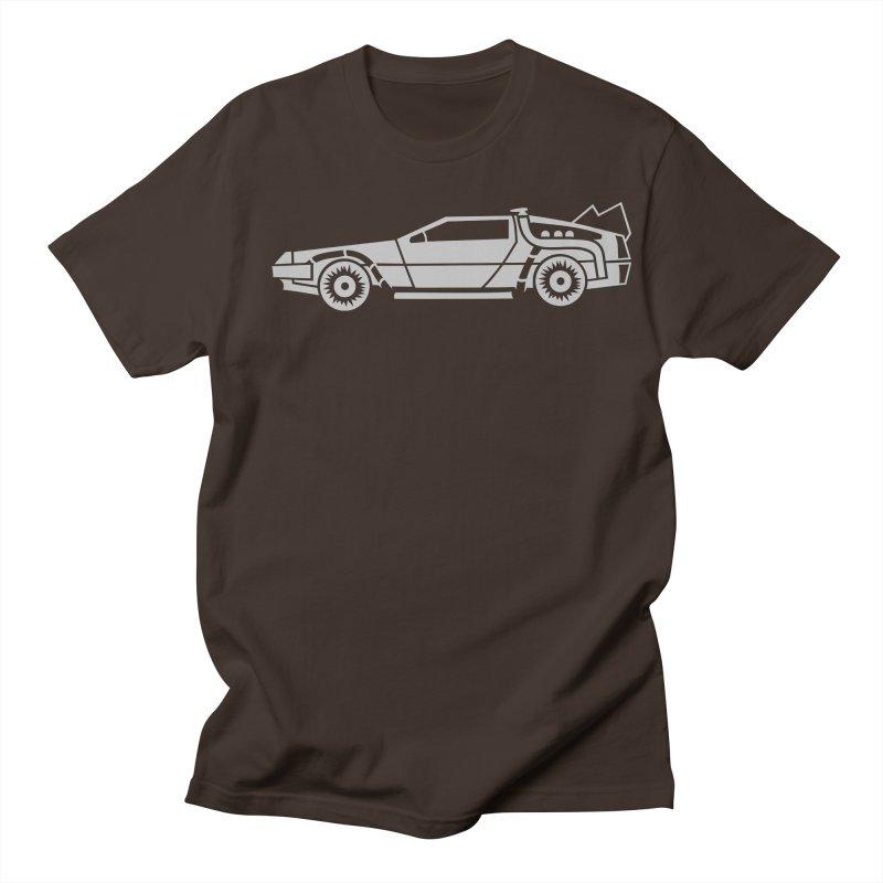 Delorean Men's Regular T-Shirt by Synner Design