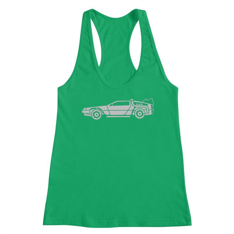 Delorean Women's Tank by Synner Design
