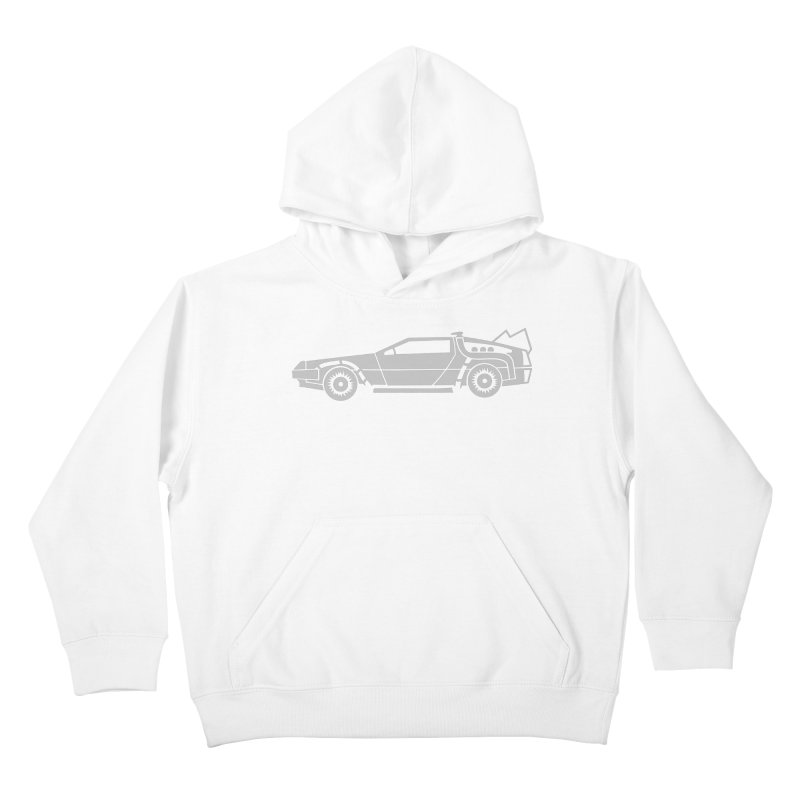 Delorean Kids Pullover Hoody by Synner Design