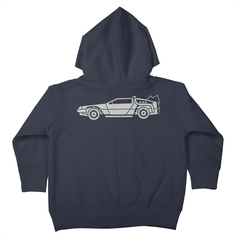 Delorean Kids Toddler Zip-Up Hoody by Synner Design