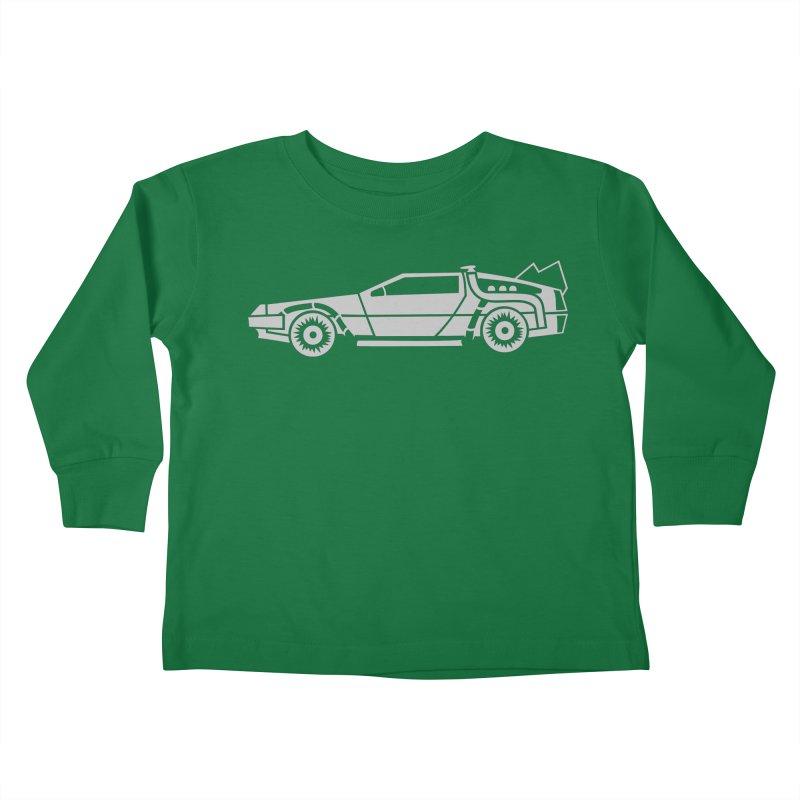 Delorean Kids Toddler Longsleeve T-Shirt by Synner Design