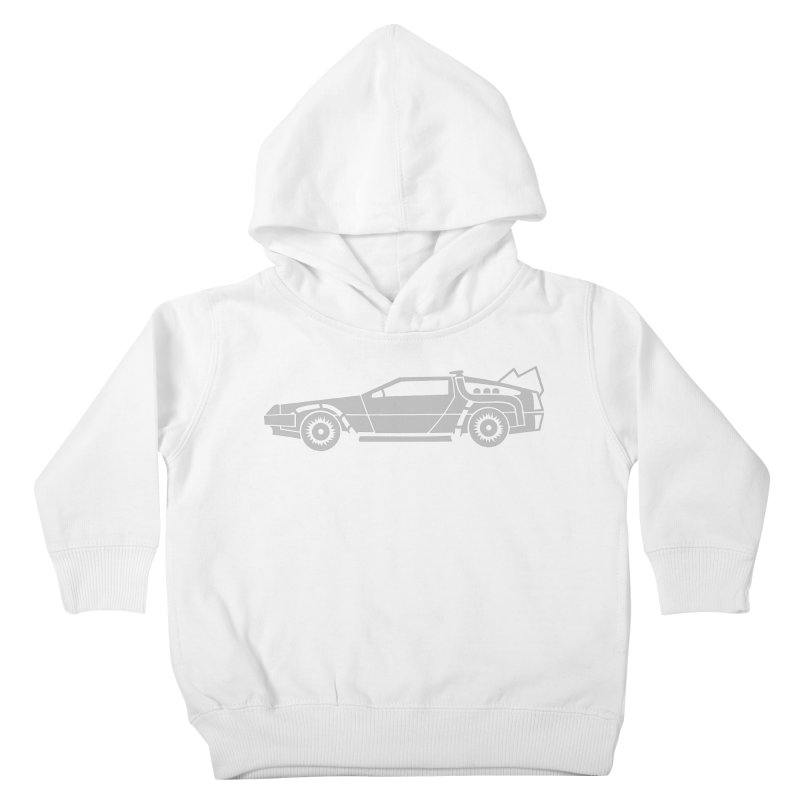 Delorean Kids Toddler Pullover Hoody by Synner Design