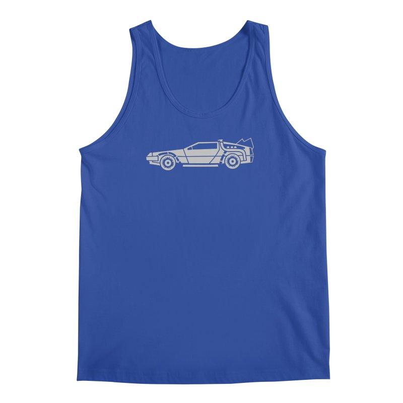 Delorean Men's Regular Tank by Synner Design