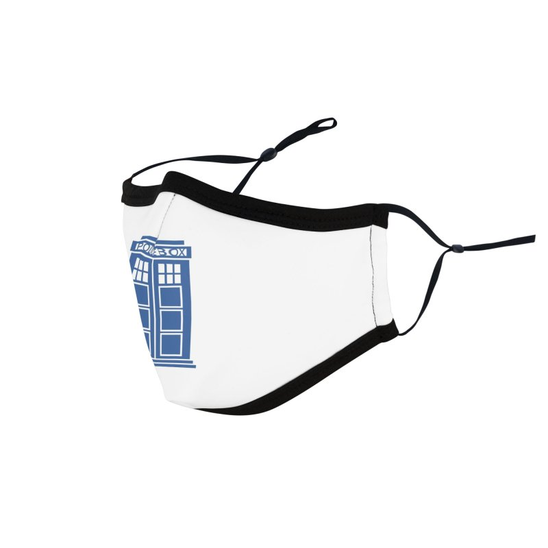 Tardis flies Accessories Face Mask by Synner Design