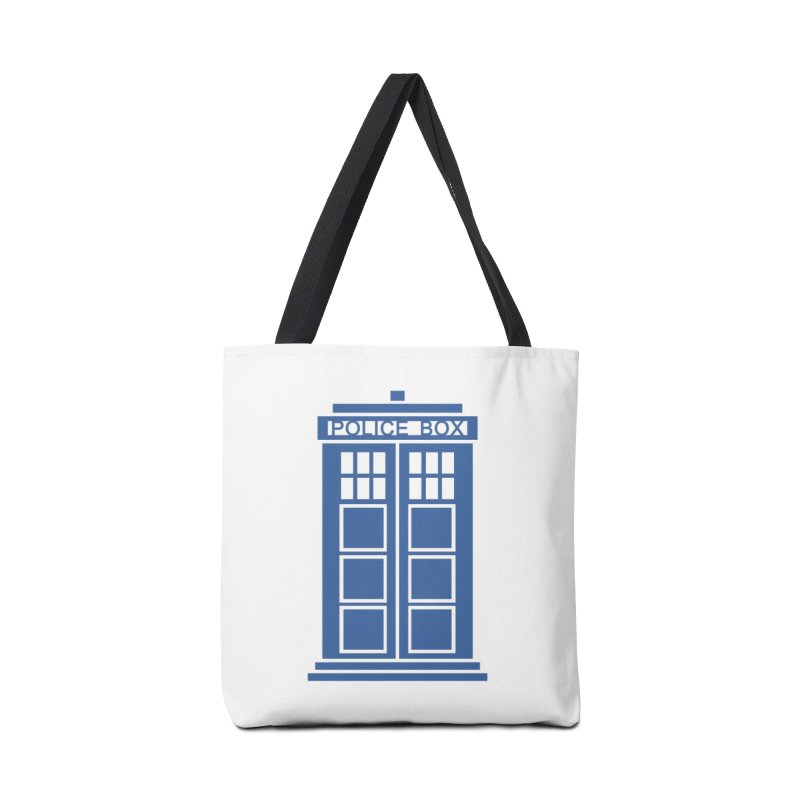 Tardis flies Accessories Tote Bag Bag by Synner Design