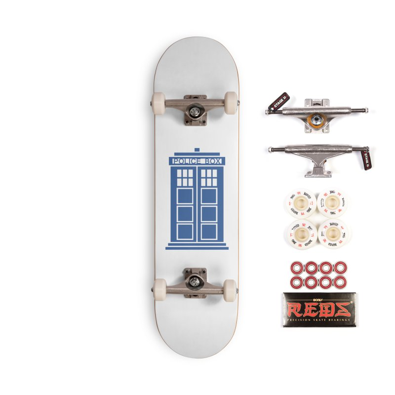 Tardis flies Accessories Complete - Pro Skateboard by Synner Design