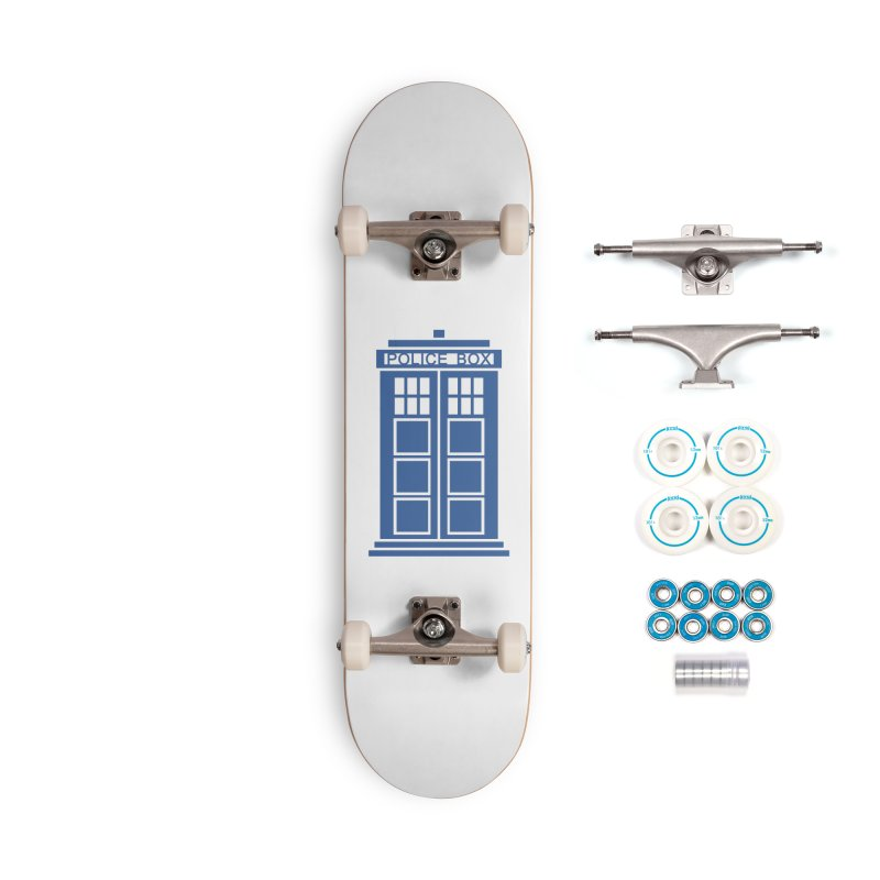Tardis flies Accessories Complete - Basic Skateboard by Synner Design