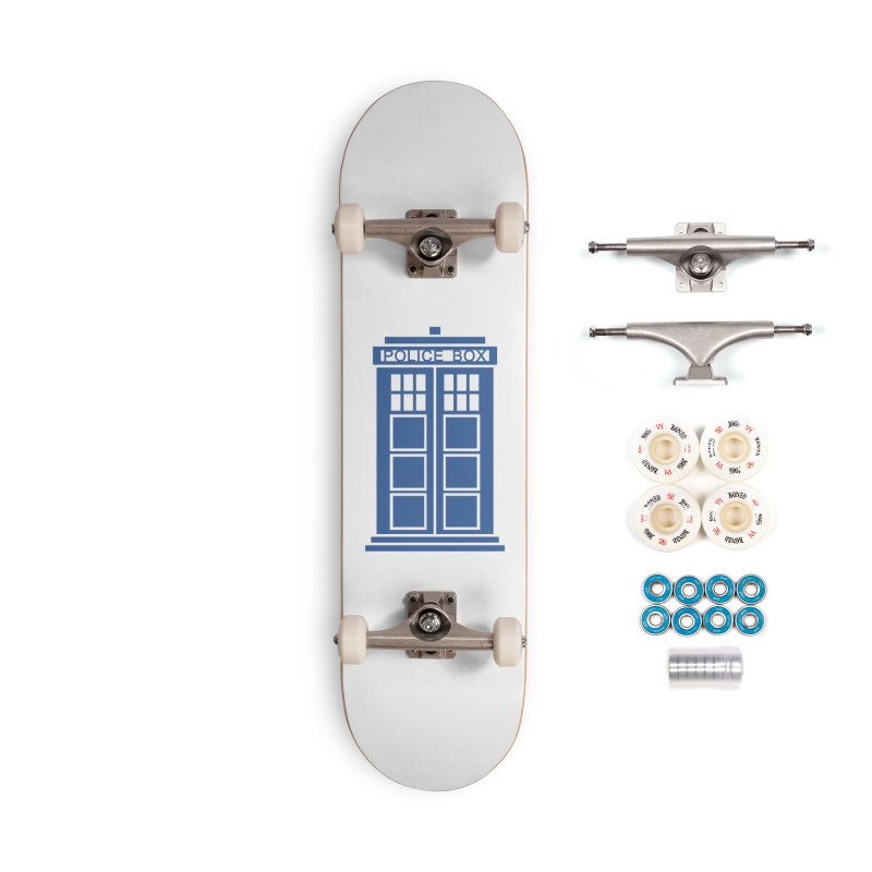 Tardis flies Accessories Complete - Premium Skateboard by Synner Design