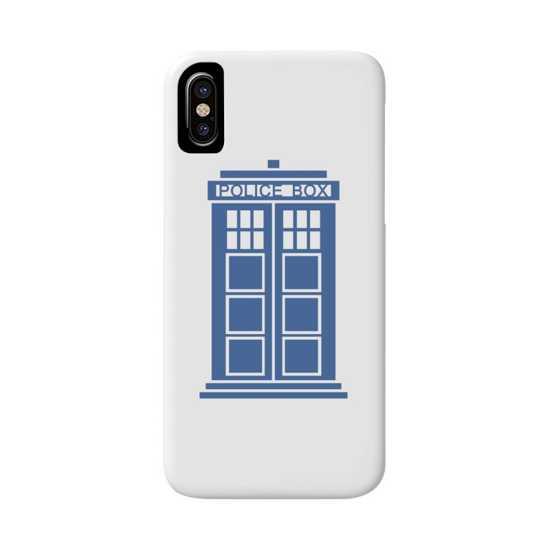 Tardis flies Accessories Phone Case by Synner Design
