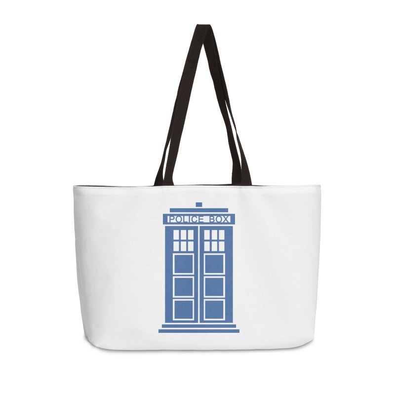 Tardis flies Accessories Weekender Bag Bag by Synner Design