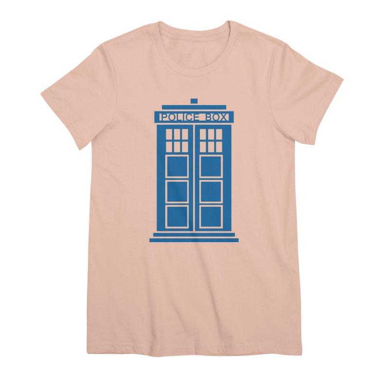 Tardis flies Women's T-Shirt by Synner Design