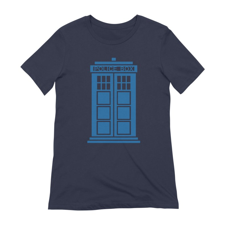 Tardis flies Women's Extra Soft T-Shirt by Synner Design