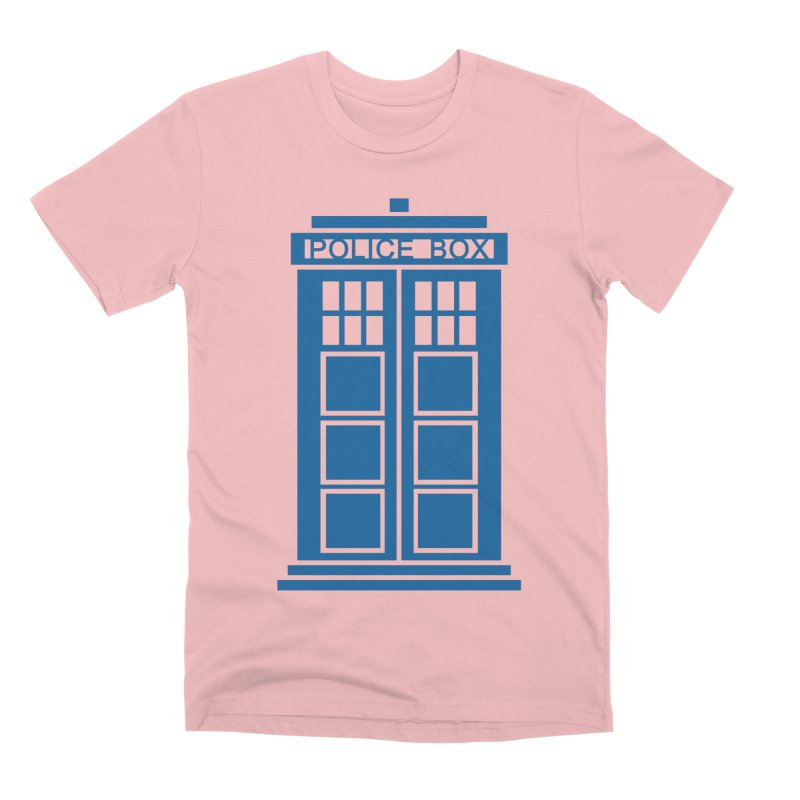 Tardis flies Men's Premium T-Shirt by Synner Design