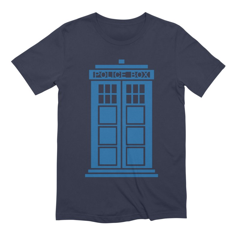 Tardis flies Men's Extra Soft T-Shirt by Synner Design
