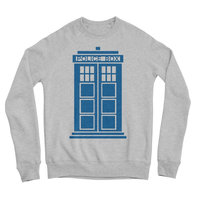 Tardis flies Men's Sponge Fleece Sweatshirt by Synner Design