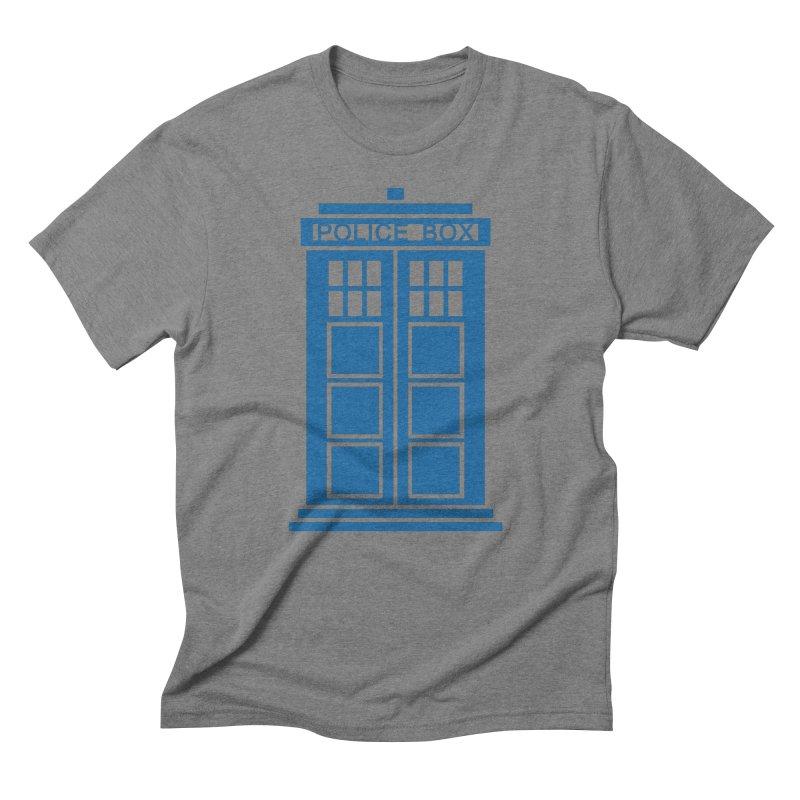 Tardis flies Men's T-Shirt by Synner Design