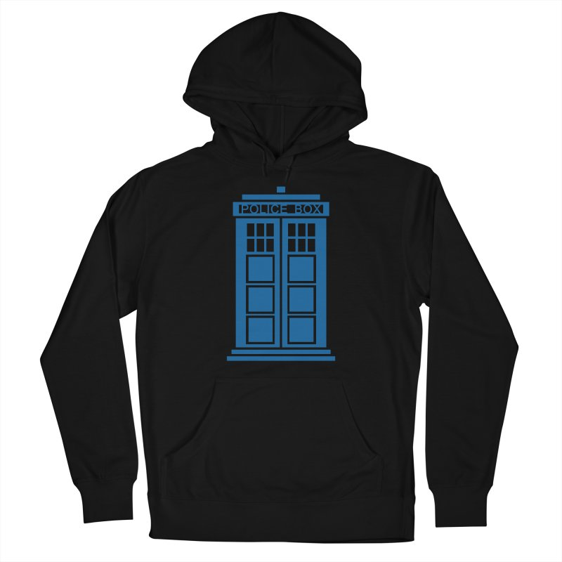 Tardis flies Women's French Terry Pullover Hoody by Synner Design
