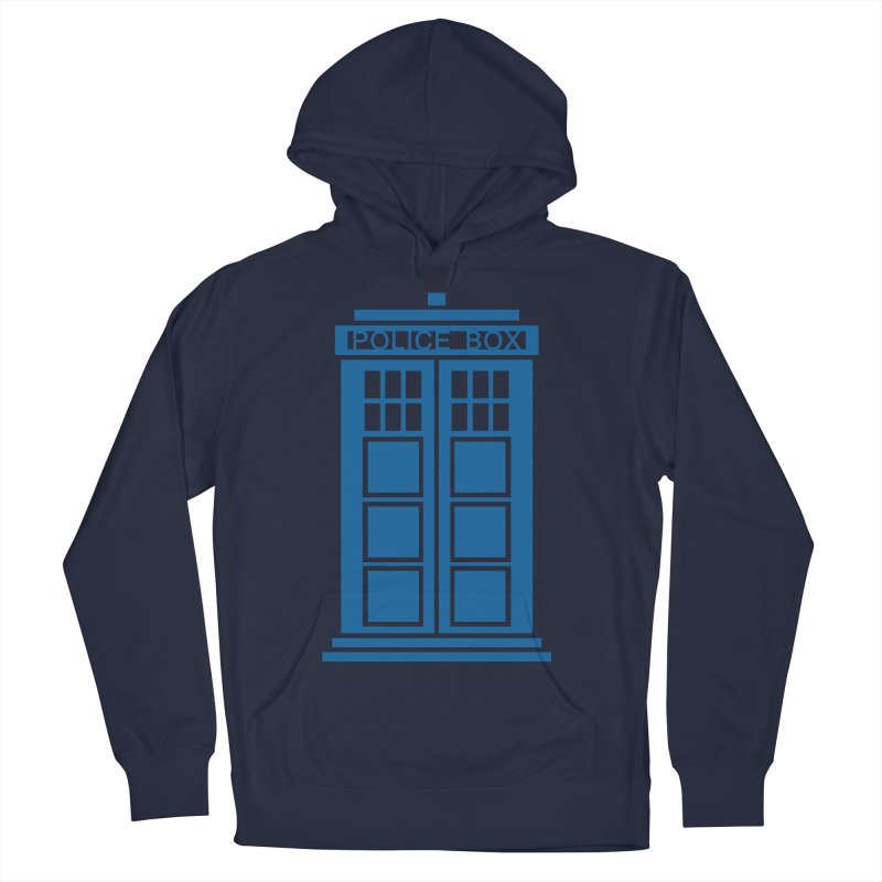Tardis flies Men's Pullover Hoody by Synner Design
