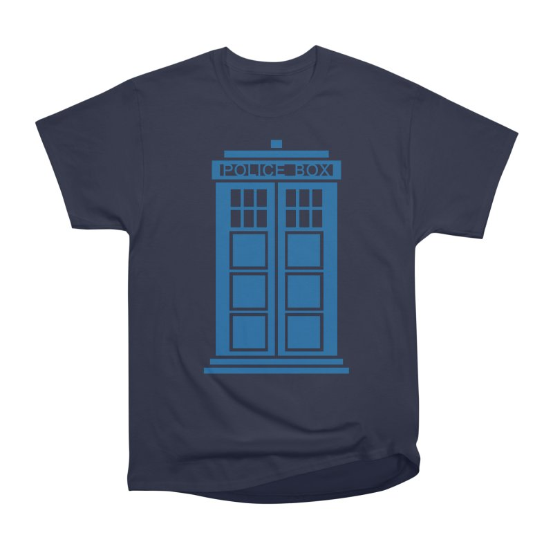 Tardis flies Men's Heavyweight T-Shirt by Synner Design