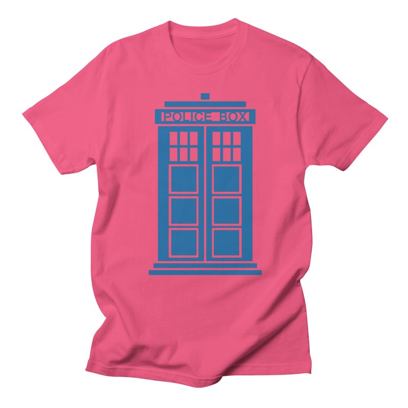 Tardis flies Women's Regular Unisex T-Shirt by Synner Design