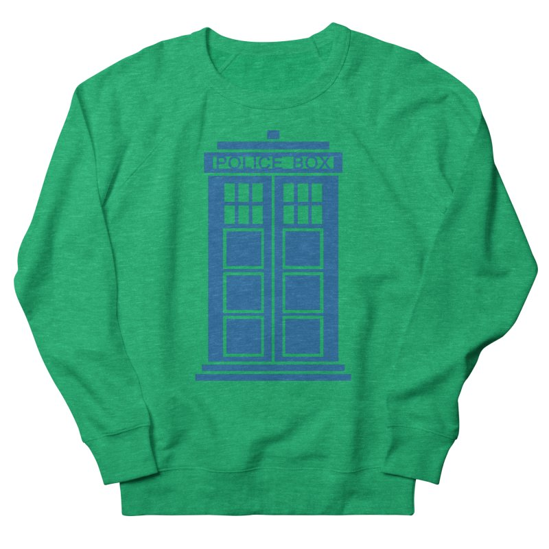 Tardis flies Men's French Terry Sweatshirt by Synner Design