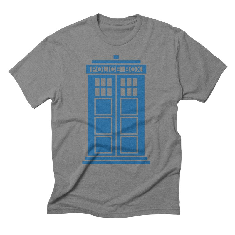 Tardis flies Men's T-Shirt by Synner Design