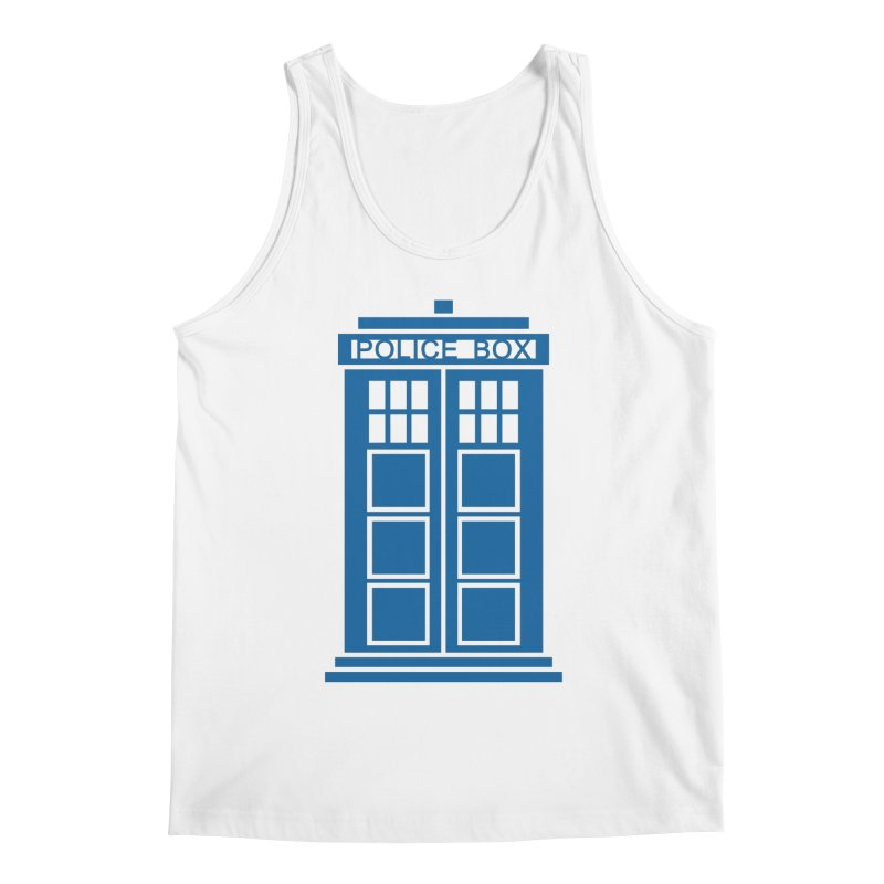 Tardis flies Men's Regular Tank by Synner Design
