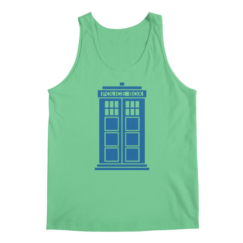 Tardis flies Men's Tank by Synner Design