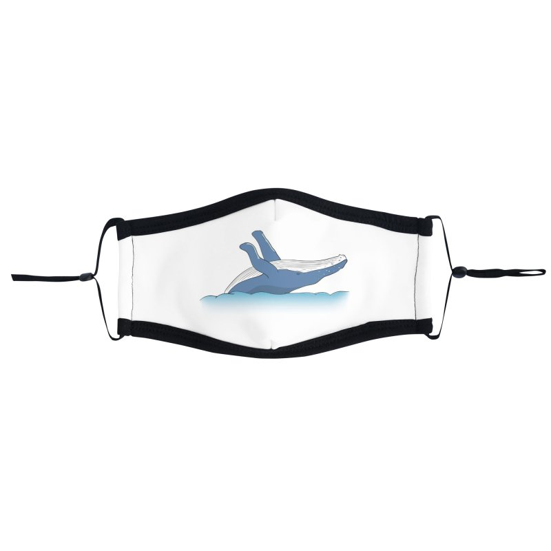Humpback jumps! Accessories Face Mask by Synner Design