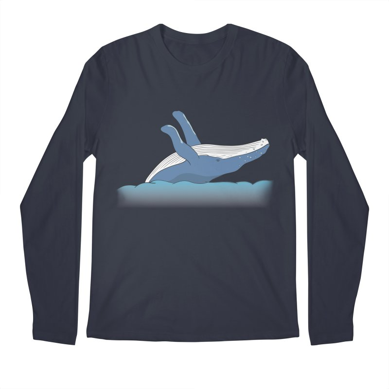 Humpback jumps! Men's Regular Longsleeve T-Shirt by Synner Design