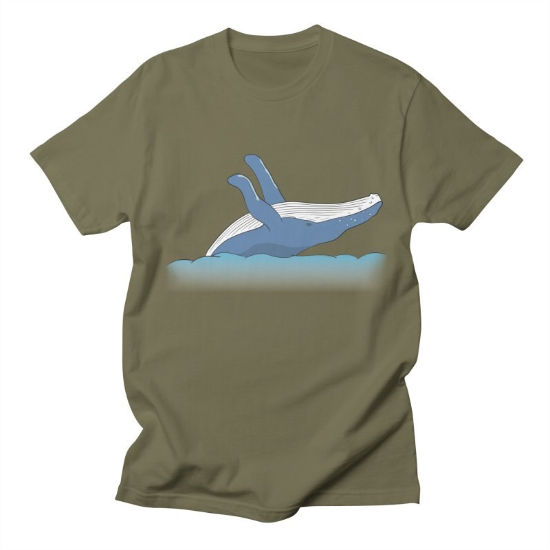 Humpback jumps! Women's Regular Unisex T-Shirt by Synner Design