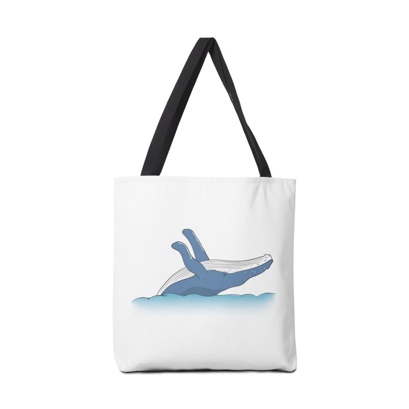 Humpback jumps! Accessories Tote Bag Bag by Synner Design