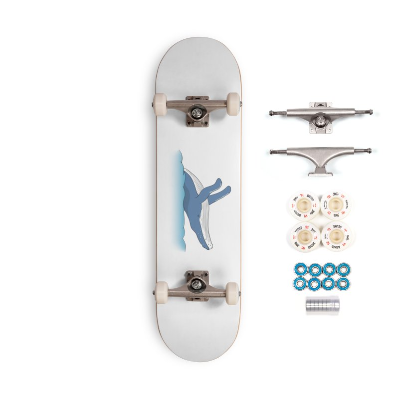 Humpback jumps! Accessories Complete - Premium Skateboard by Synner Design