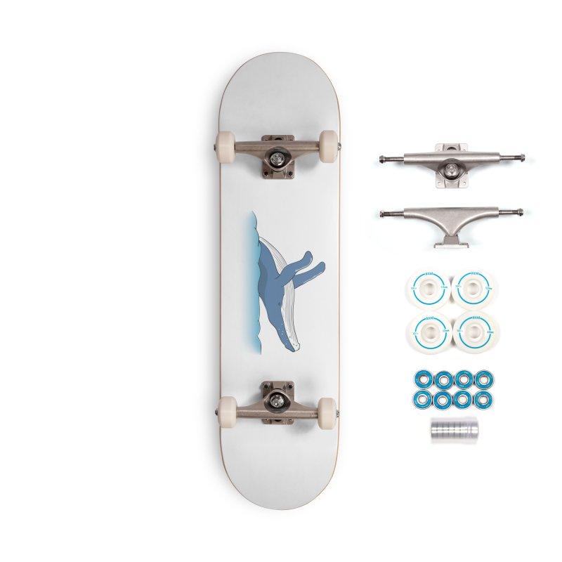 Humpback jumps! Accessories Complete - Basic Skateboard by Synner Design