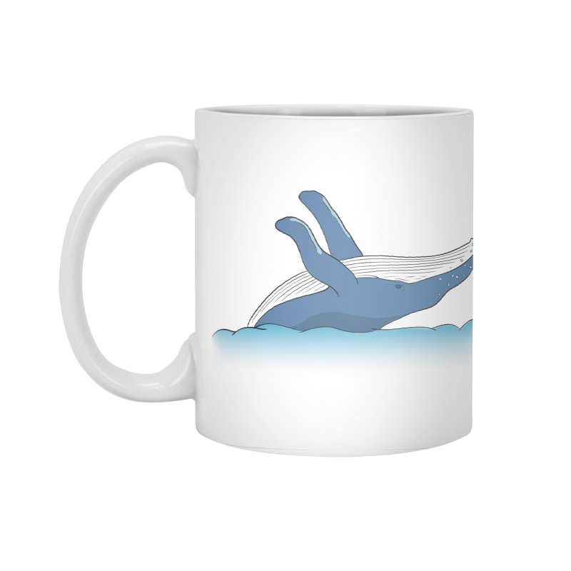 Humpback jumps! Accessories Standard Mug by Synner Design