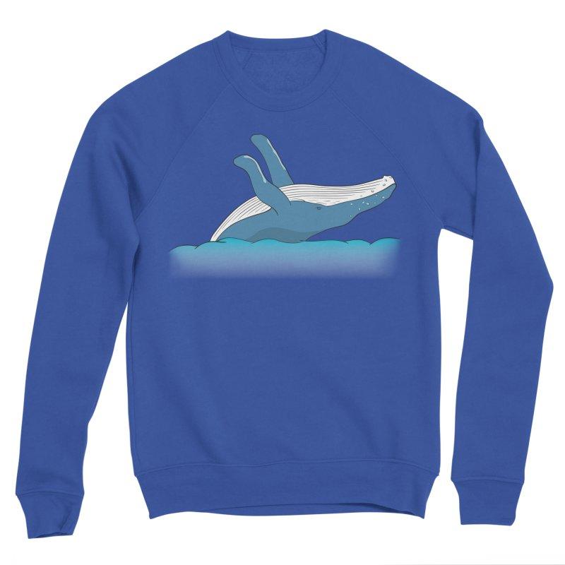 Humpback jumps! Men's Sweatshirt by Synner Design
