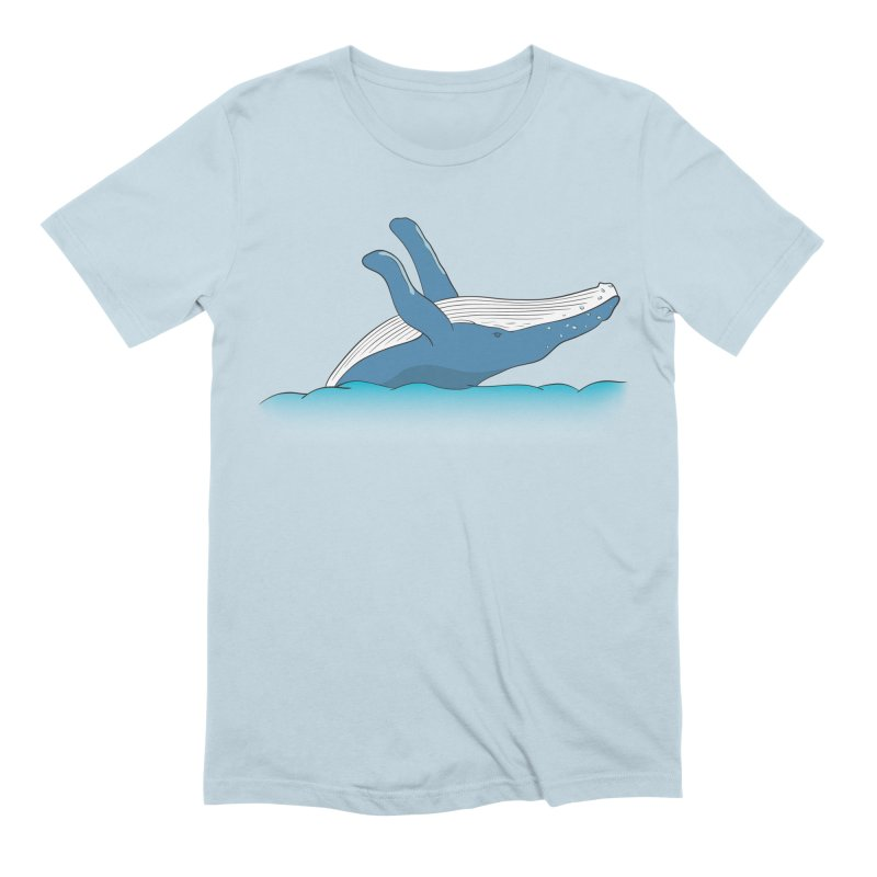 Humpback jumps! Men's Extra Soft T-Shirt by Synner Design