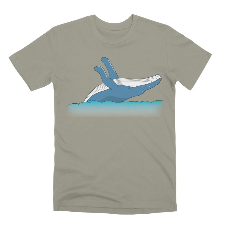Humpback jumps! Men's Premium T-Shirt by Synner Design