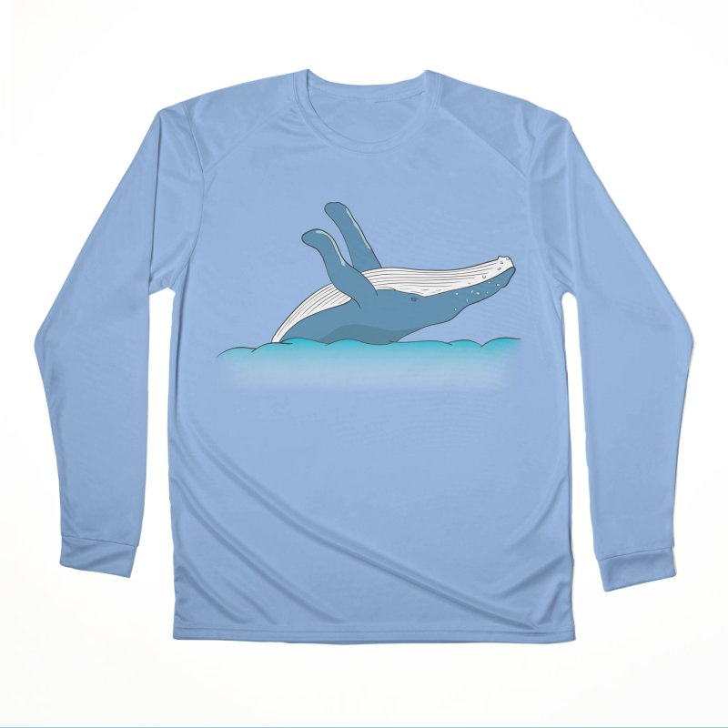 Humpback jumps! Men's Performance Longsleeve T-Shirt by Synner Design