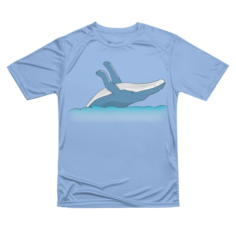 Humpback jumps! Men's Performance T-Shirt by Synner Design