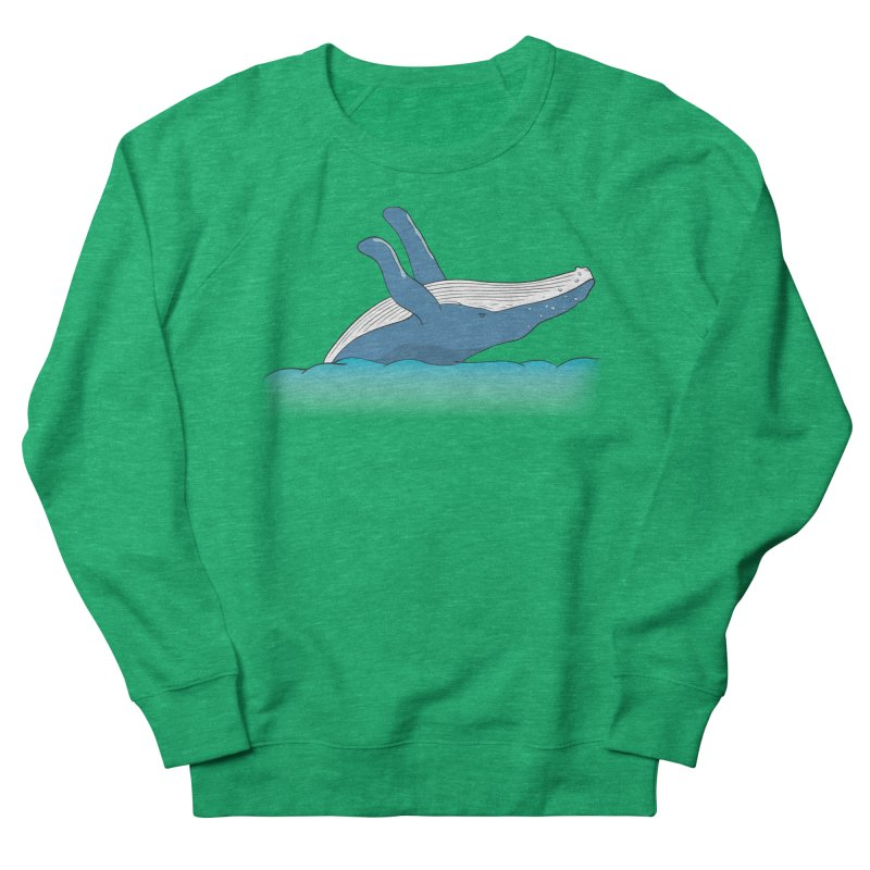 Humpback jumps! Women's Sweatshirt by Synner Design
