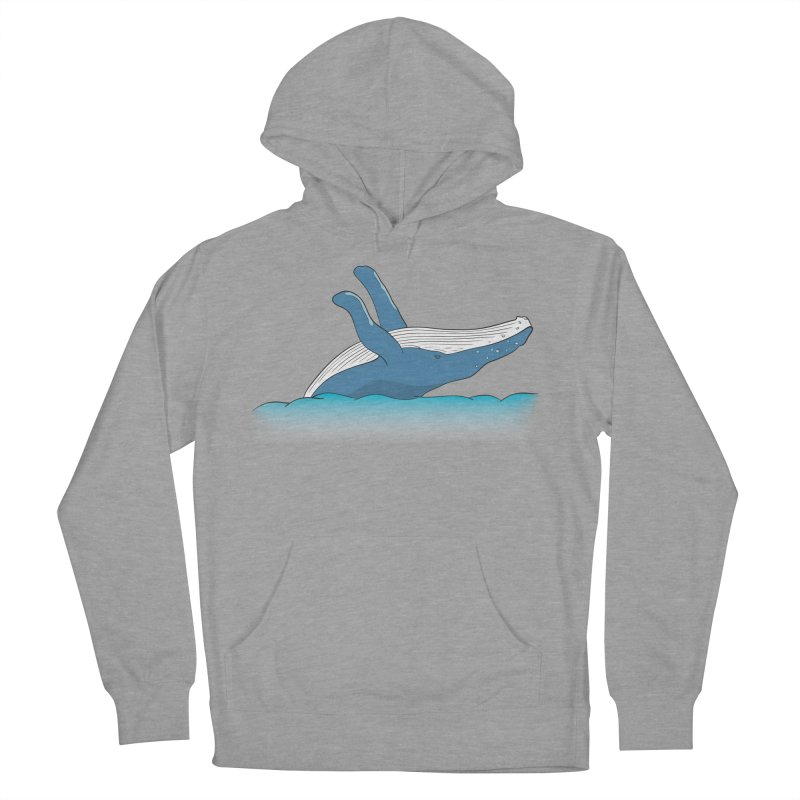 Humpback jumps! Women's Pullover Hoody by Synner Design