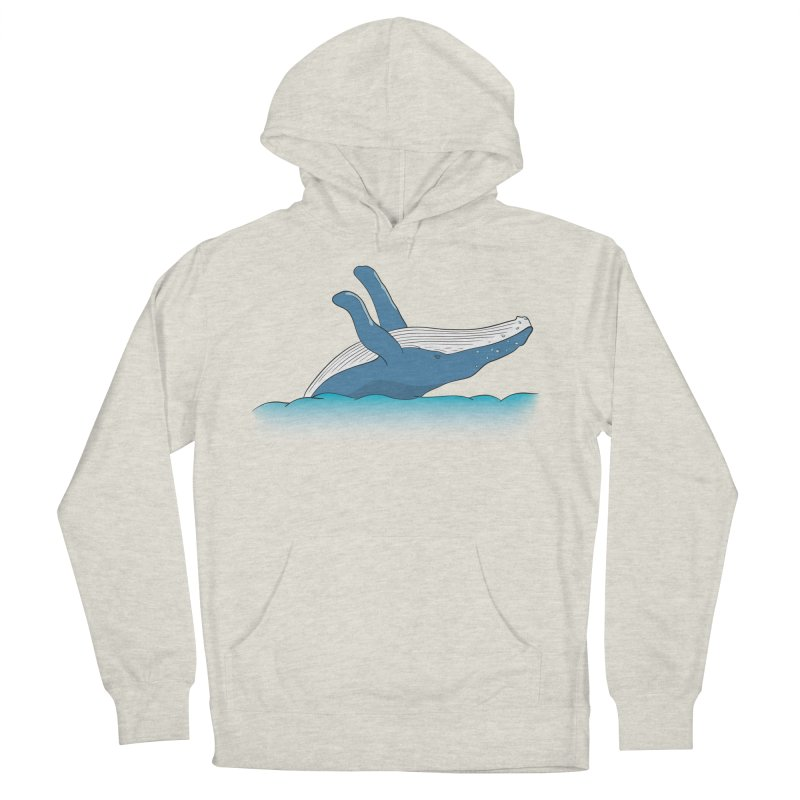 Humpback jumps! Men's Pullover Hoody by Synner Design